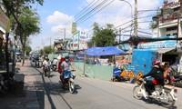 Việc thi công đào đường sẽ tạm dừng dịp Tết Nguyên đán.