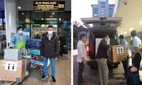 Bác sĩ Bệnh viện Chợ Rẫy cùng trang thiết bị lên đường đi Hải Dương.