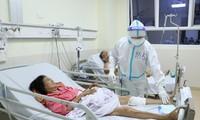 Bệnh nhân hồi phục sau ca phẫu thuật.