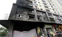 Thời gian qua, cháy nổ trong chung cư nhưng người dân không được bồi thường