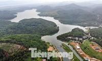 Hồ Đầm Bài tại Hoà Bình. Ảnh: Minh Đức