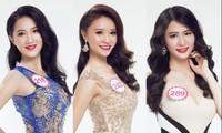 Từ trái sang: Trần Ngô Thu Thảo, Nguyễn Thị Như Thủy, Phạm Châu Tường Vi.