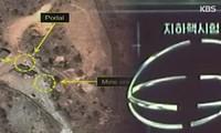 Hình ảnh ghi lại những hoạt động bất thường tại bãi thử hạt nhân Punggye-ri. Ảnh: 38 North