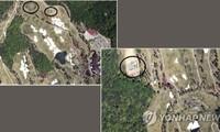 Hình ảnh do đài KCTV công bố được cho là ảnh chụp hệ thống phòng thủ THAAD từ vệ tinh. Ảnh: Yonhap