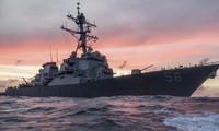 Tàu khu trục USS John S. McCain. Ảnh: Hạm đội 7