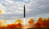 Tận thấy tên lửa Triều Tiên rời bệ phóng trước khi bay qua Nhật Bản