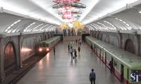 Bên trong hệ thống tàu điện ngầm kiêm hầm trú hạt nhân ở Triều Tiên