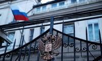Đại sứ quán Nga tại London (Anh). Ảnh: Reuters