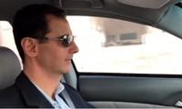 Tổng thống Syria Bashar al-Assad. Ảnh cắt từ video