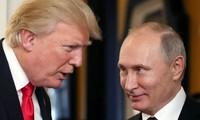 Tổng thống Mỹ Donald Trump và Tổng thống Nga Vladimir Putin. Ảnh: AFP