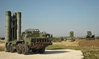 Hệ thống S-400 của Nga tại căn cứ Khmeimim. Ảnh: Sputnik
