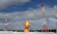 Tên lửa Sarmat. Ảnh: Bộ Quốc phòng Nga