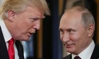 Tổng thống Mỹ Trump và Tổng thống Nga Putin. Ảnh: Getty