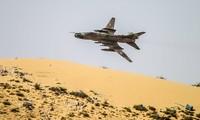 Chiến đấu cơ Su-22 của Không quân Syria. Ảnh: Tass