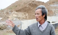 Ông Phạm Tấn Lực, một trong những lão nông đã tự bỏ công đi giám sát cao tốc Đà Nẵng – Quảng Ngãi