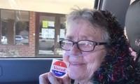 Bầu cử Mỹ: Cụ bà 82 tuổi quyết bỏ phiếu trước khi nhắm mắt xuôi tay