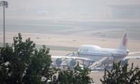 Chuyên cơ của hãng Air China được cho là đưa ông Tập Cận Bình đến Triều Tiên. Ảnh: AFP