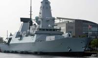 Tàu khu trục HMS Duncan. Ảnh: CNA