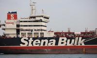 Tàu chở dầu Stena Impero hiện đang bị giam giữ tại thành phố cảng phía nam Iran - Bandar Abbas. Ảnh: Reuters