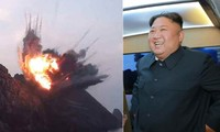 Tên lửa Triều Tiên bay qua thủ đô, bắn trúng mục tiêu trên biển