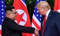 Tổng thống Mỹ Donald Trump và Chủ tịch Triều Tiên Kim Jong-un. Ảnh: Reuters