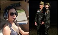 Website hoàng gia Thái Lan sập vì đăng ảnh Hoàng quý phi lái máy bay