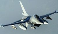 Máy bay F-16 Bỉ. Ảnh: Sputnik