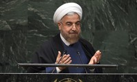 Tổng thống Iran Hassan Rouhani. Ảnh: Times of Israel