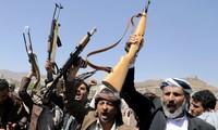 Phiến quân Houthi. Ảnh: Reuters