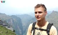 Du khách Kaspar (21 tuổi, đến từ Lithuana).