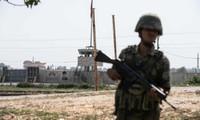 Binh sĩ Thổ Nhĩ Kỳ ở khu vực biên giới giáp Syria. Ảnh: Getty