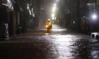 Tokyo ngập nước do bão Hagibis. Ảnh: Reuters