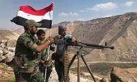 Quân đội chính phủ Syria. Ảnh: Sputnik