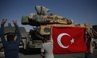 Quân đội Thổ Nhĩ Kỳ. Ảnh: AP