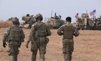 Quân đội Mỹ tại Syria. Ảnh: AP