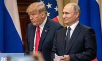 Tổng thống Nga Vladimir Putin và Tổng thống Mỹ Donald Trump. Ảnh: Getty