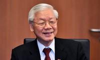 Thông điệp của Tổng Bí thư, Chủ tịch nước nhân dịp VN đảm nhận trọng trách mới