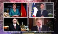 Phát biểu năm mới: Lãnh đạo Đức lo biến đổi khí hậu, Anh háo hức chờ Brexit
