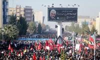 Tang lễ Tướng Soleimani ngày 7/1. Ảnh: Fars News
