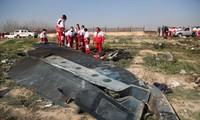 Hiện trường vụ tai nạn máy bay ngày 8/1 ở Tehran. Ảnh: Getty