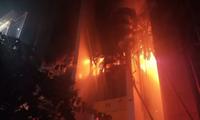 Cháy tòa nhà Dầu khí ở Thanh Hóa, 12 người thương vong