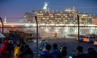 Du thuyền Diamond Princess. Ảnh: Reuters