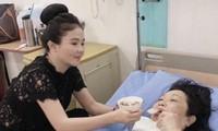 Nghệ sĩ Thanh Hằng nhập viện