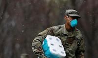Binh sĩ Mỹ tại New York. Ảnh: Reuters