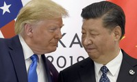 Tổng thống Mỹ Donald Trump và Chủ tịch Trung Quốc Tập Cận Bình. Ảnh: AP
