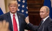 Tổng thống Nga Putin và Tổng thống Mỹ Trump. Ảnh: Getty