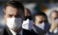 Tổng thống Brazil Jair Bolsonaro. Ảnh: AP