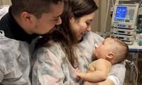 Dom và bố mẹ. Ảnh: Getty