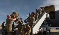 Vệ binh Quốc gia của bang Utah được điều động tới Washington hôm 1/6 theo yêu cầu của ông Trump. Ảnh: Reuters