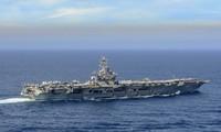 Tàu sân bay USS Nimitz. Ảnh: Hải quân Mỹ